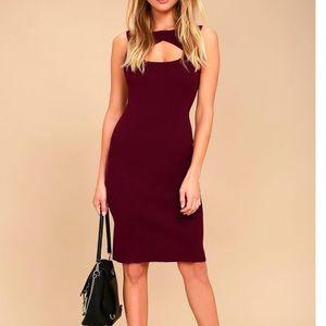 Lulus Zadie Bodycon Dress